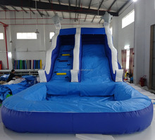 Commercial Inflatable Double Drop Water Slide for Adults