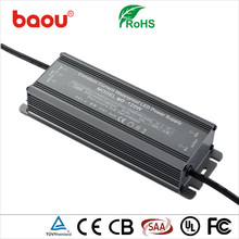 Baou waterproof 120w 0-10v dimmable led driver