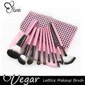 Lovely 10pcs Pink Makeup Brush Set