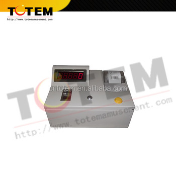Counting ticket/Lottery ticket printer for game machine