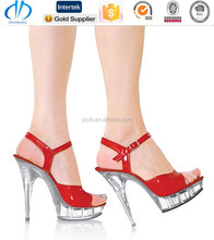 fast supplier durable girls dress high heel shoes size 3