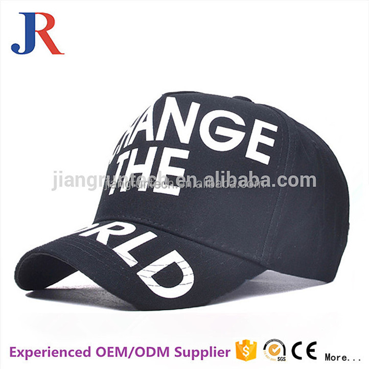 Wholesale cheap cotton 5 panel custom print popular japanese baseball caps