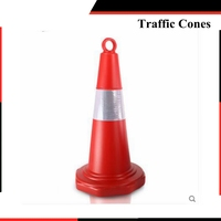 70CM ABS Plastic Safety Cone Roadway