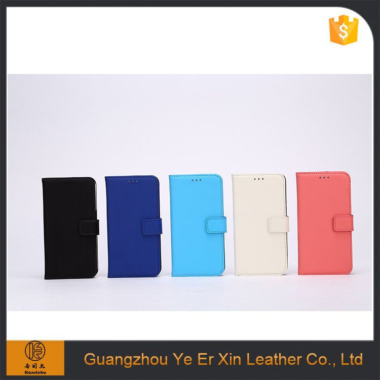 Book style frame genuine leather phone case for Samsung Galaxy S6 case flip cell phone wallet