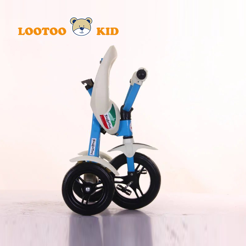 Alibaba china factory cheap price 10 inch high quality 3 wheel tricycle kids folding bike