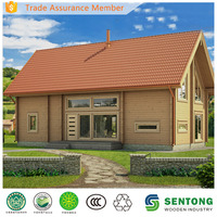 European Style Wooden House Villa Model