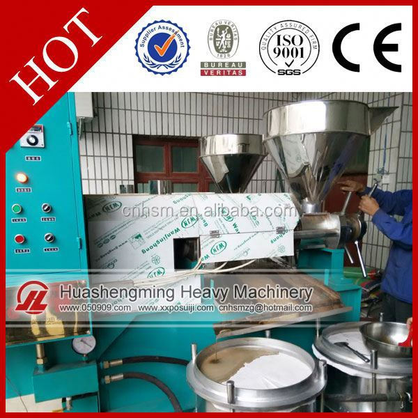HSM Manufacture ISO CE almond spiral oil press machine