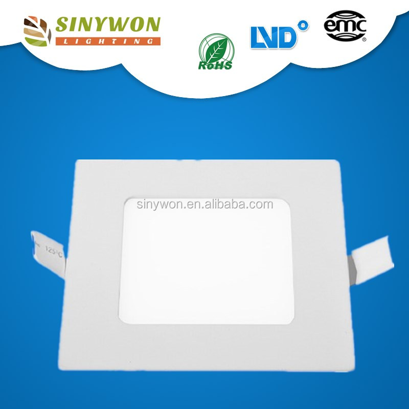 Sinywon 2016 Sale Promotion !!!Circle Round Or Square Panel Lamp 3W 6W 12W 18W 24W 48W 18w square led panel light