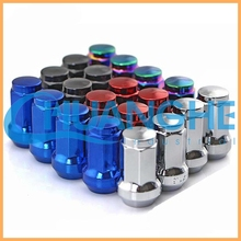 China manufacturer colorful wheel lug nuts