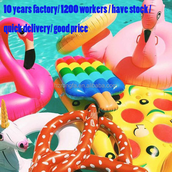 20 years factory made eco-friendly 0.3mm pvc MOQ 1PC pool inflatable pool float