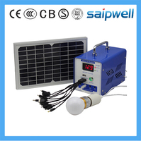 Saipwell 6W Solar House Generator Power System (SP-1206H)