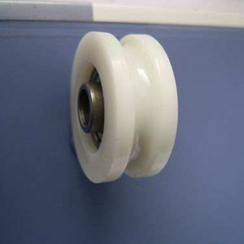 nylon roller with v groove and rubber bearing wheel for sliding windowswheels for aluminum windows