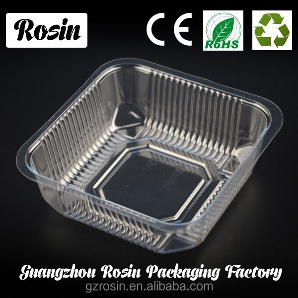 Custom ordertransparent Flow Casting Cost Saving Food Contact Standard PP Thermoformed Food Plastic Container