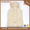 cable knit hot water bag with button cover