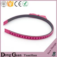 2016 new design elastic rubber hair bands wholesale hairband kids cute band