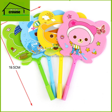 Colorful Cartoon design Fans Stationery Ball Pen Tip