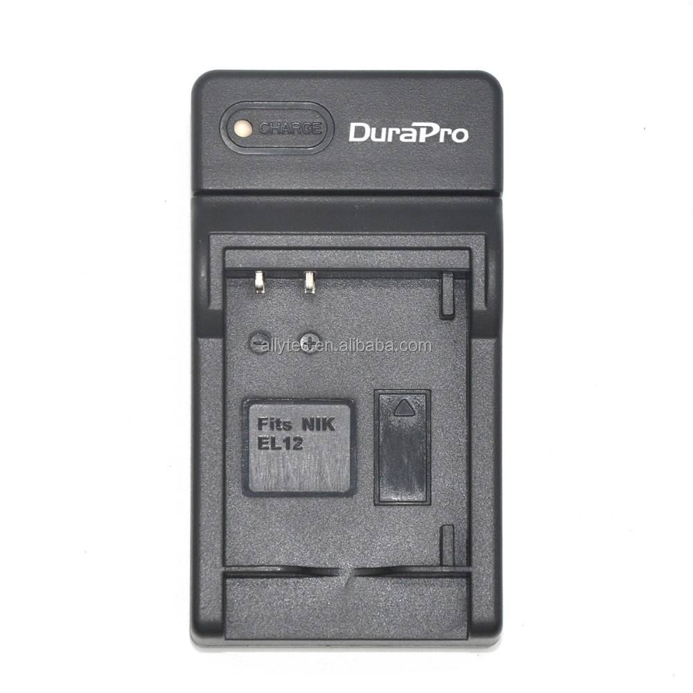 DuraPro EN-EL12 USB Digital Charger for Nikon Coolpix S9900, S9700, AW120, S9500, AW110, S70, S9600
