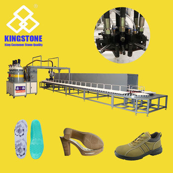 JL-298 Automatic PU Footwear Pouring Moulding Machine