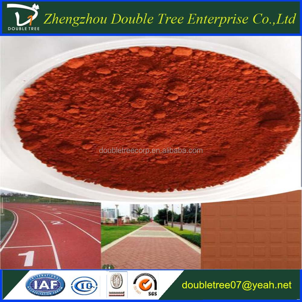 Iron oxide red 110 pigment for paint, coating, cement, brick, concrete and plastic