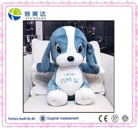 Christmas promotion toys dog big dogs with big eyes and ears