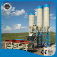 Construction equipment HZS35 35m3/h ready mix concrete plant for sale price list