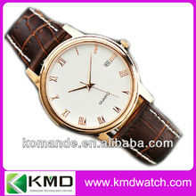3ATM water resistant quartz japan movement mens watch 38mm watch case