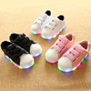 latest high quality cute breath new design cheap customize sport children sneakers led wholesale kids light shoes