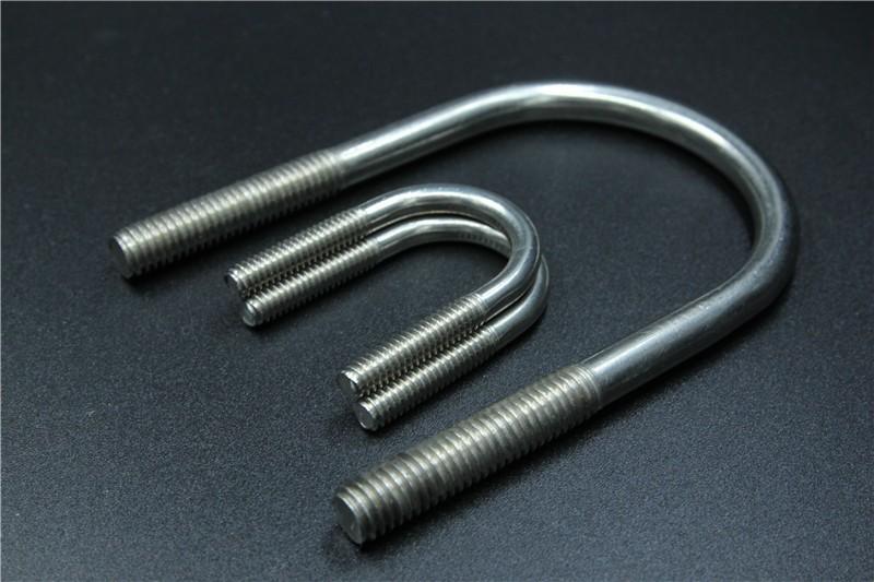 Flat u bolt saddle clamps view t y