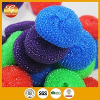Kitchen cleaning wire mesh scourer