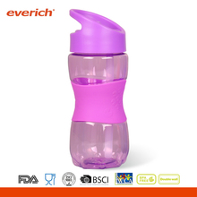 Everich customized 600ml tritan kids water bottle with silicone grip