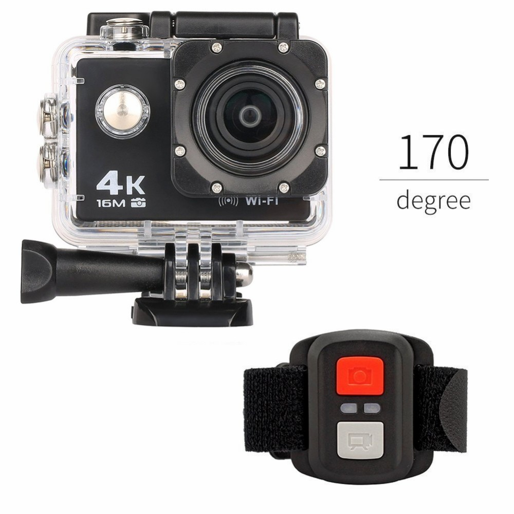 2017 EKEN go pro style remote 4k camera Mini helmet sports action camera