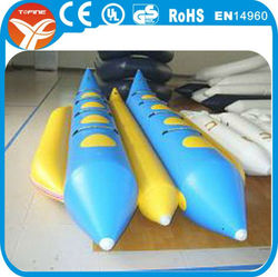 inflatable double banana boat for adults and kids