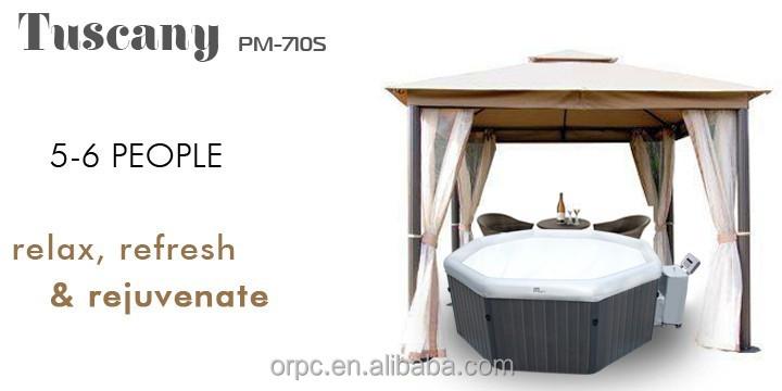 Freestanding piscina termale vasca da bagno portatile - Vasca da bagno piscina ...