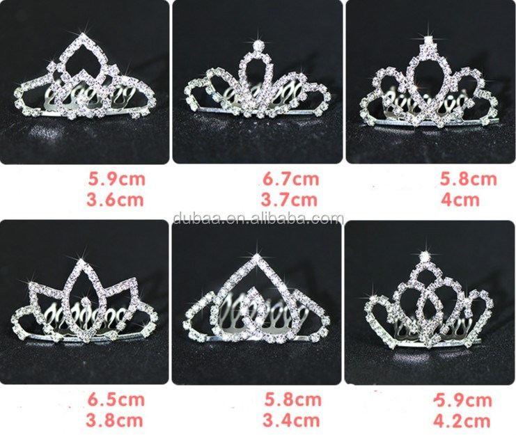 Wedding Bridal Womens Pageant Prom Girls Kid Child Birthday Tiara Crown Headband