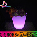 Waterproof colorful glowing flower pot large LED illuminated planter