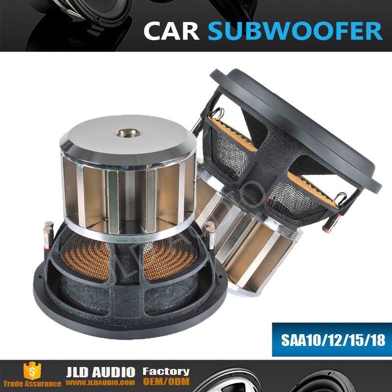 JLD Audio Extremly18 inch neo motor car subwoofer with high spl speaker huge powered car speaker Made in China