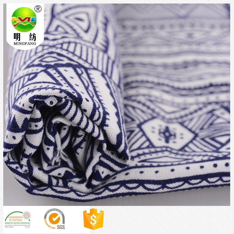 good quality garment fabric 100% floral dress printed viscose rayon fabric