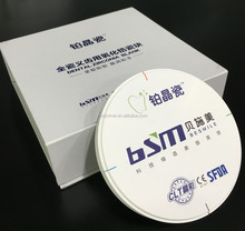 First class dental zirconia bridge material third party assessed manufacturer of dental zirconia blocks