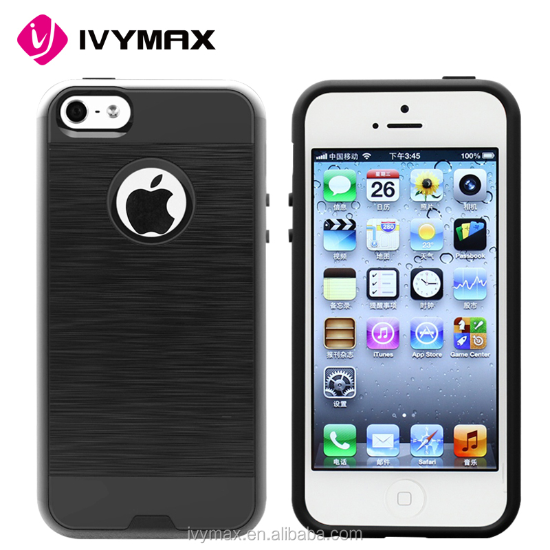 IVYMAX 2016hot double layer cell phone case for iphone se