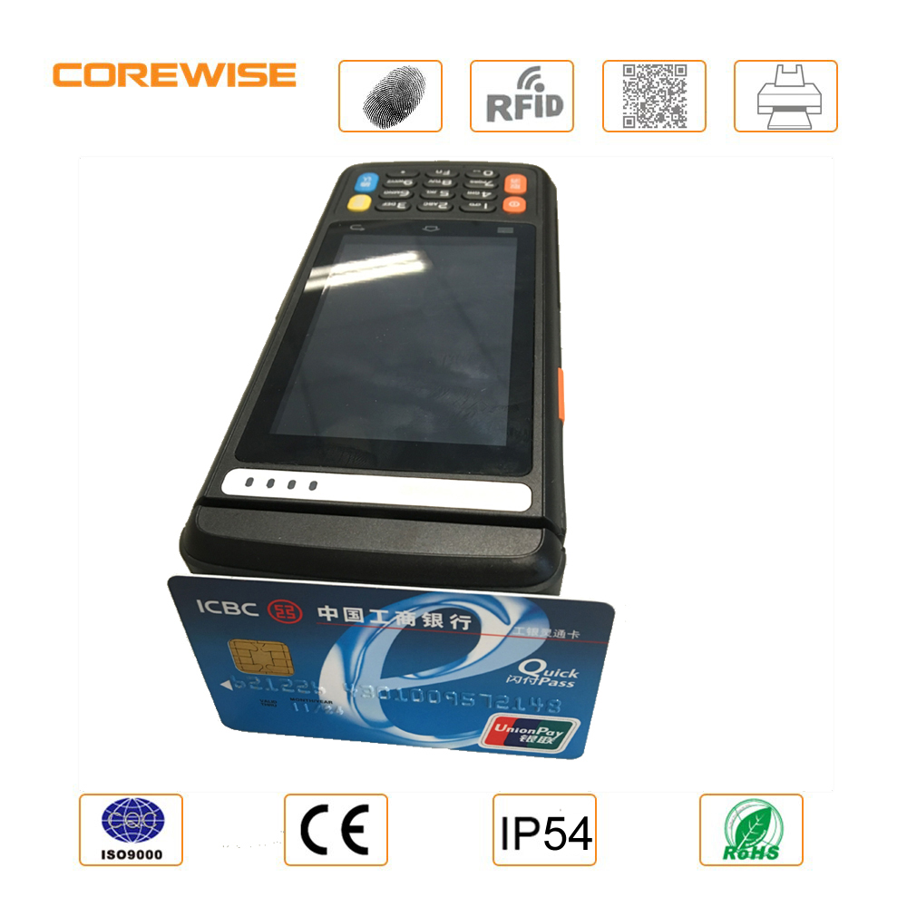 Rugged ISO15693 contactless magnetic stripe reader with MSR, PSAM card