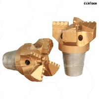 soft formations drag bit / high performance 4 blades PDC drag bits