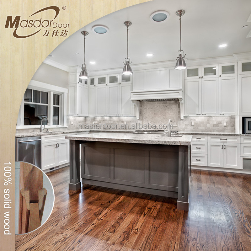 China mahogany wood kitchen cabinets wholesale