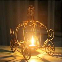 Halloween metal wire lantern for halloween decor, Festival halloween metal lantern candle holder