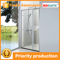 Bathroom design frameless shower doors tempered pivot bath screens