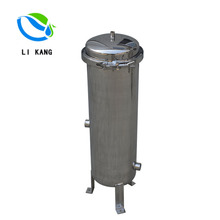 Customized Types Stainless Steel Filter System Clamp Single Bag Filter For Water and Liquid to Remove The Impurity