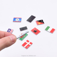 custom high quality EVA national flag fridge magnet stickers for different countries