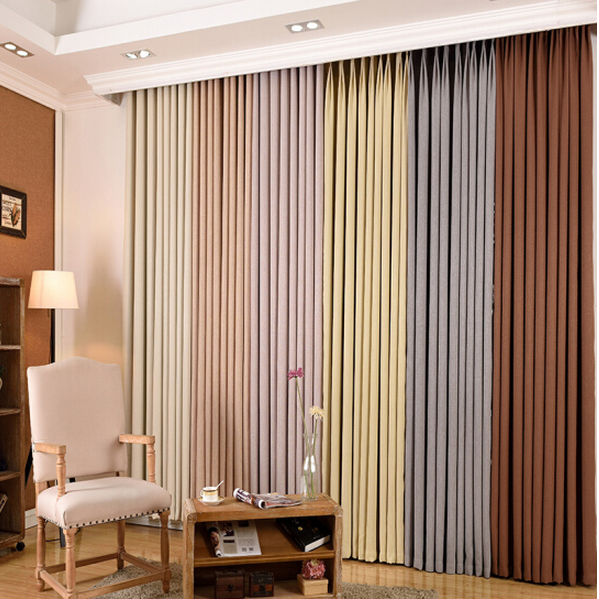 Factory Manufacture Home and Hotel Project Electric Remote Control window curtains
