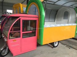 electric fast food car/mobile snacks car /Snack Business Electric Fast Food Car/ Food Vans