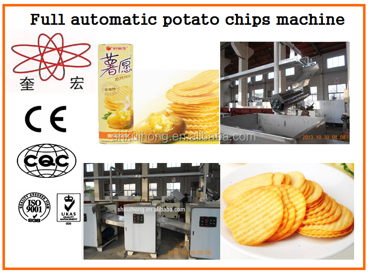 KH-600 baked industrial potato chips making machine