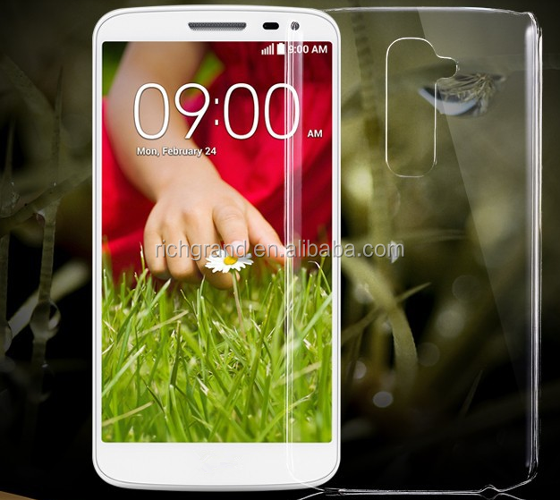 High Quality Ultra Thin Crystal Clear hard Case For LG G2 Optimus D801 F320 D802